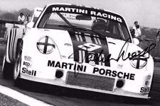 Jochen Mass firmado Martini-Porsche 935 Silverstone 6hrs 1976