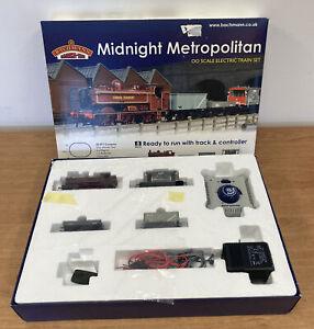 Bachmann 30-077 Midnight Metropolitan Train Set OO Gauge *Untested* (D1)