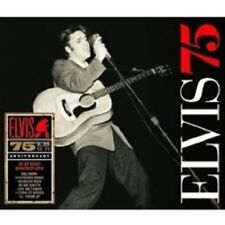 "ELVIS PRESLEY ""ELVIS 75"" 3 CD 75 TRACKS NEW!"