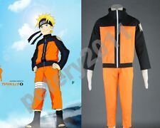 Naruto Cosplay Costumes Shippuden Naruto Uzumaki 2nd Cosplay Costume Halloween