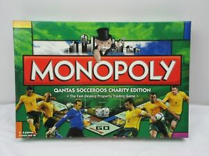 Monopoly Qantas Socceroos Limited Edition 2009 Hasbro Completed