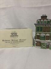 "Department 56 - Dickens Village Series - ""The Flat of Ebenezer Scrooge"" 1989"