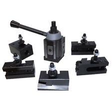 6 12 Wedge Type Quick Change Tool Post Set Fr Aloris 100 Axa Lathe