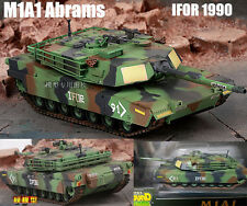 US MBT M1A1 Abrams IFOR  Europe 1990 camouflage tank 1:72 assembled Easy Model