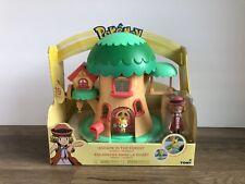 Pokemon Escape In The Forest Treehouse Playset by Tomy Pikachu Oshawott Fennekin