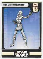 2008 Star Wars Miniatures Kor Echani Handmaiden Stat Card Only #39