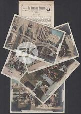 LE PONT DES SOUPIRS Cinématographe PATHE Film VENISE 5 Carte-Photos 1905