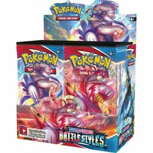 POKEMON TCG Sword and Shield Battle Styles Booster Box   36 Boosters IN STOCK