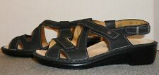 LN~BARELY WORN FINN COMFORT LEATHER SANDALS SIZE 7.5 M US/5 UK! FREE SHIPPING!