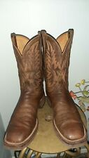 Mens lucchese boots 12D