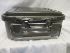 """Mueller Genesis Care Fusion Sterilization Container 4"""" Pre Owned"""