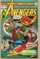 Avengers #132-1975 fn+ 6.5 Frankenstein / Gil Kane / Kang