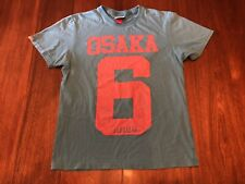 Osaka 6 + Super Dry Project T-Shirt Size Men's XL