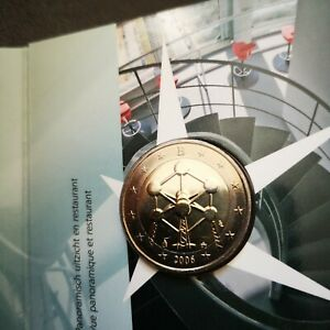 Coincard 2 euro commémorative Belgique 2006 - Atomium - Neuf