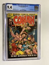 Conan The Barbarian 12 Cgc 9.4 Ow/w Pages Marvel Bronze Age