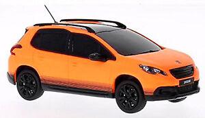 Peugeot 2008 SUV 2013-15 Mate Naranja 1:43 Norev