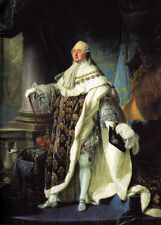 """perfect 24x36 oil painting handpainted on canvas"""" Portrait of Louis XVI """"@13076"""