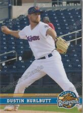 2017 Midland RockHounds Dustin Hurlbutt RC Rookie Oakland Athletics