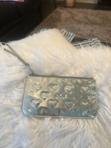 Marc Jacobs Metallic Pouch Hearts