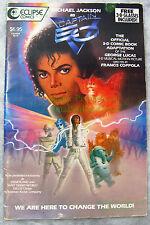 3-D Captain EO SPECIAL SOUVENIR EDITION Michael Jackson BIG PICS! Acceptable!