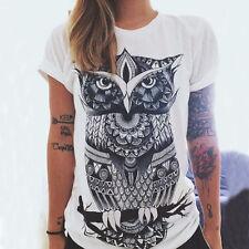 Fashion Women Summer Casual Cotton Blouse Short Sleeve Shirt T-shirt Blouse Tops