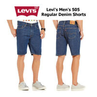 Levi's Men's 505 Regular Denim Shorts