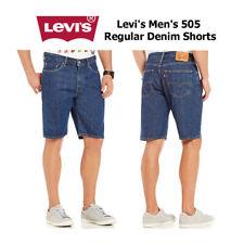 Calça Levi's Masculina 505 Shorts De Brim regular