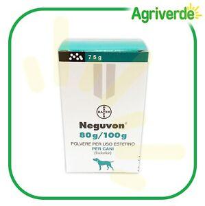 BAYER Antiparassitario in Polvere NEGUVON per Cani con Triclorfon 75 Gr