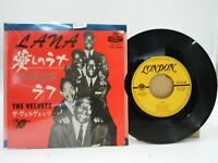 Japan EP Record THE VELVETS Lana London 1425