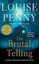 THE BRUTAL TELLING - PENNY, LOUISE - NEW PAPERBACK BOOK