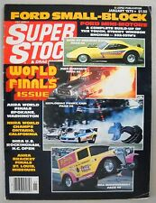 Super Stock & Drag Illustrated January 1979 Racing Pro Super Stock Funny Cars