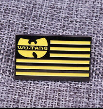 Hip Hop Group Wu-Tang Clan Enamel Pin New!