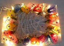 20 Multi-Coloured Handmade Bee Fairy Lights by Zhambala