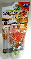 Original Takara Tomy Beyblade Burst B-13 Booster Valkyrie Spread Survive Orange