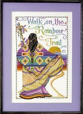 "Design Works RAINBOW TRAIL 9673 COUNTED CROSS STITCH 12"" X 18"""