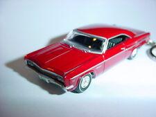NEW 3D RED 1966 CHEVROLET IMPALA SS CUSTOM KEYCHAIN keyring key 66' super sport