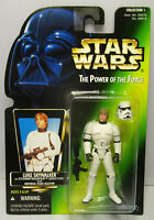 1997  Kenner Star Wars Luke Stormtrooper POTF 2 Green Japanese Sticker Figure