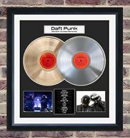 Daft Punk - Random Access Memories LIMITED EDITION Framed Display W/ Album