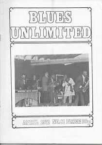 BLUES UNLIMITED : No.81 : April 1971 : Robert Johnson & Lightnin Slim'
