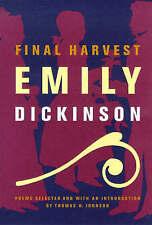 Final Harvest: Emily Dickinson's Poems by Emily Dickinson (Hardback, 1981)