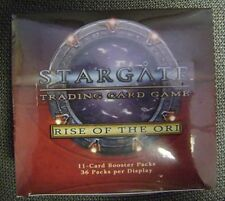 Stargate TCG Rise Of The Ori Booster Box SEALED