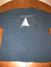 MANNHEIM STEAMROLLER tour T shirt 2XL Christmas 1997 concert XXL