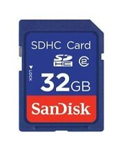 SanDisk SDHC 32 Go Classe 4 Carte Mémoire - SDSDB-032G-B35