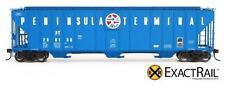 HO Scale - EXACTRAIL Evolution Series EE-1716-6 PENINSULA TERMINAL Evans Hopper