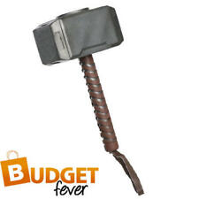 Kids Thor Hammer Boys Fancy Dress The Avengers Marvel Childs Costume Accessorry