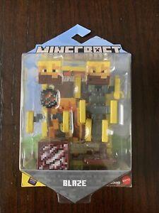 "Minecraft Comic Maker BLAZE 3.25"" Action Figure Mattel Mojang GGP96"