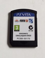 FIFA 13 GAME FOR THE SONY PS PLAYSTATION VITA  (CARTRIDGE ONLY) - FREE POSTAGE!