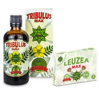 Tribulus Terrestris 100ml | Leuzea Maral root 30tabs 200mg | Testo | Muscle Gain