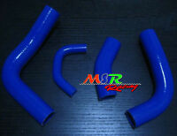 BLUE Silicone Radiator Hose kit for Toyota Landcruiser Land cruiser 80 SERIES 3F