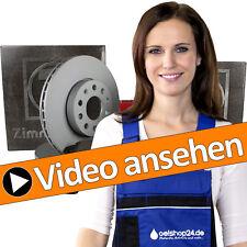 Zimmermann Bremsscheiben Set + Bremsbeläge vorne + hinten VW Golf 4 IV Audi A3